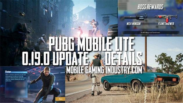 PUBG Mobile Lite 0.19.0 Update