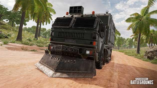 Loot Truck in PUBG PC Season 8