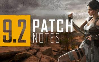 PUBG PC 9.2 Patch Notes