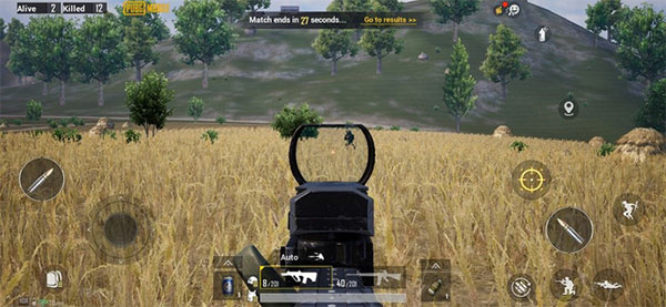 The UX between PUBG Mobile and PUBG Console