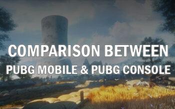PUBG Mobile and PUBG Console