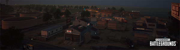 Isolated industrial park