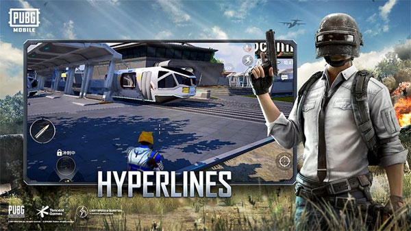 New Vehicle is Hyperlines Added PUBG Mobile 1.5